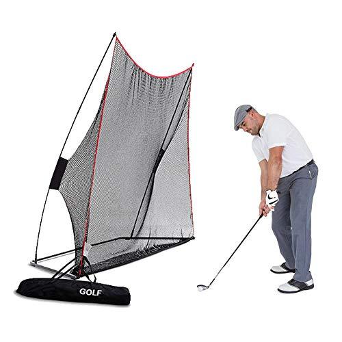 AYNEFY Golfnetz, universelles Golfnetz, für den Garten, Golf, Schläge, Übungsnetz für den Außenbereich, tragbar, mit Tragetasche, 3 m x 19 m