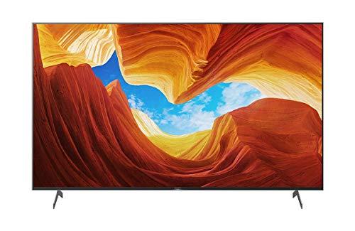 Abbildung Sony KD-75XH90 Bravia 189 cm (75 Zoll) Fernseher (Android TV, LED, 4K Ultra HD (UHD), High Dynamic Range (HDR), Smart TV, Sprachsteuerung, 2020 Modell), Schwarz
