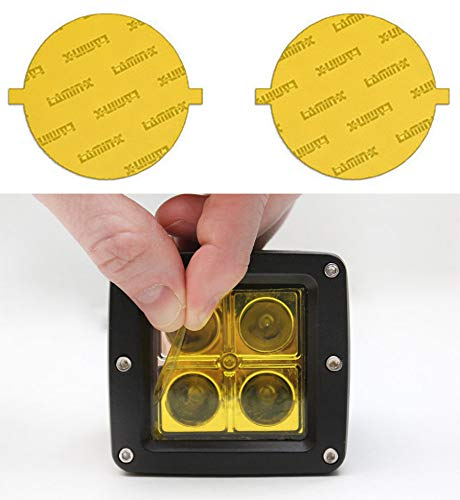 yellow fog light covers - 1