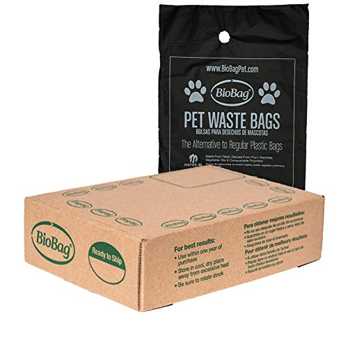BioBag Compostable Pet Waste Bags, Standard Size, 200 Count