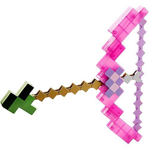 toy Juguete De Espada Y Pico Transformador 2 En 1, Juego De Juguete De Arco Y Flecha De Mosaico De Píxeles, Armas Tres En Uno, Pico, Pala Y Arma De Hacha, Niños