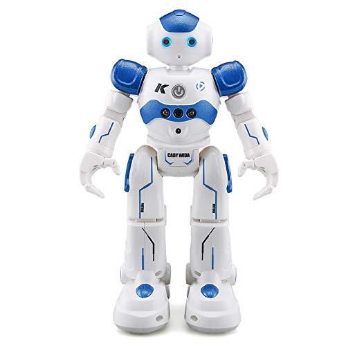 Haibei ロボットおもちゃ ラジコンロボット ログラム可能 ジェスチャ・手振り制御 男の子のおもちゃ 多機能...