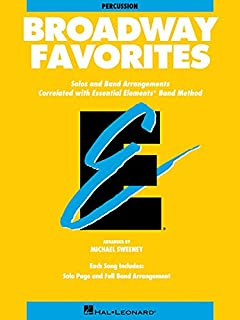 Essential Elements Broadway Favorites: Percussion