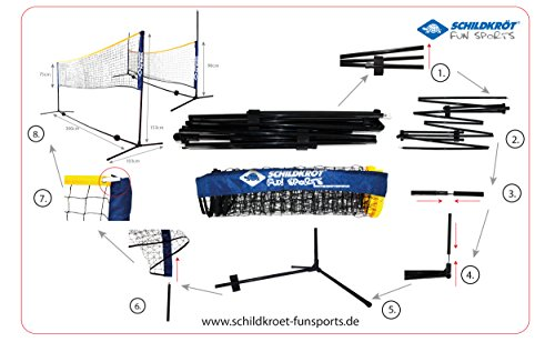 Donic-Schildkröt Funsports Net Set - Blue