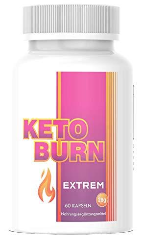 Saint Nutrition® KETO BURN - Extrem schnell - 2 Kapseln für den Tag - endlich für Frauen und Männer mit Mariendistel + Cranberry & Lemongras - Appetitzügler & Stoffwechsel Hergestellt in Deutschland