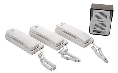 STEREN Interfon/Intercomunicador Triple
