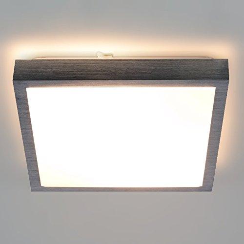 LED/Halogen Deckenlampe SAM Deckenleuchte Aluminium 230V IP20 E27 Fassung Innenlampe Deckenlampe Deckenstrahler Flurleuchte