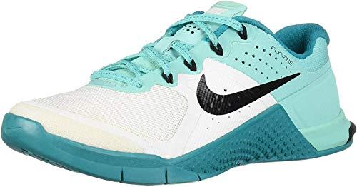 Nike Womens Metcon 2 Stealth/White/Black/Dark Grey Training Shoe 10 Women US