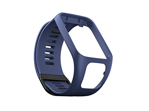 TomTom watch strap for Runner 3, Spark 3, Runner 2, Spark, Golfer 2 Indigo, Large