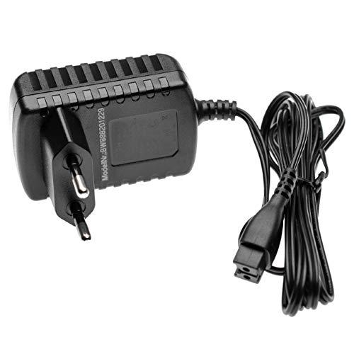 vhbw Fuente de alimentación AC compatible con Panasonic ES-LV90, ES-LV95, ES-LV97, ES-RF31, ES-RF41, ES-RT30, ES-RT31, ES-RT33 afeitadora eléctrica
