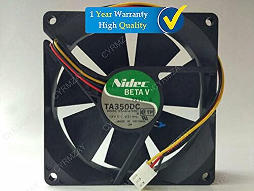 CYRMZAY Compatible for Nidec TA350DC E34404-33G1 12V 0.21A 92 * 92 * 25MM 3Pin Cooling Ventilador