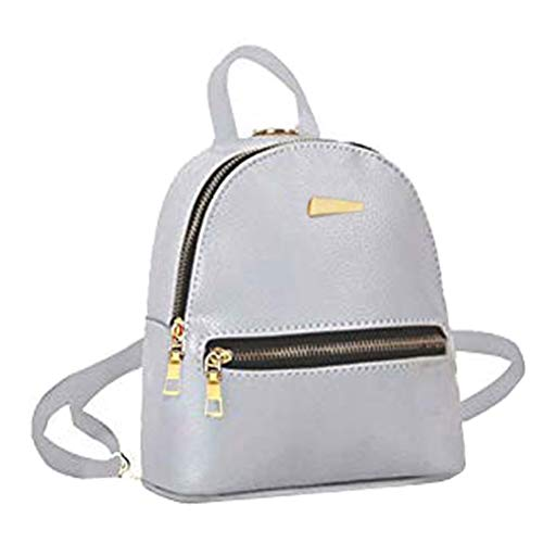 Donalworld Girl Floral School Bag Travel Cute PU Leather Mini Backpack Pattern2