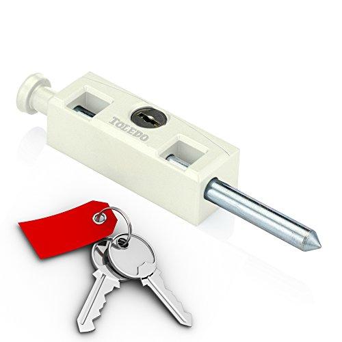 sliding patio door lock with key - 9
