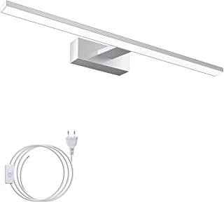 Led-spiegellamp, 60 cm, 15 W, IP44 waterdicht, voor badkamer, spiegel, make-uptafel en wandverlichting, 6000 K wit licht, ...