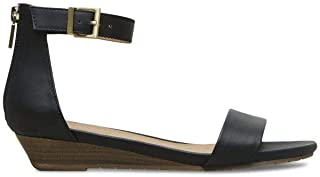 Women's Viber Ankle Strap Low Wedge Sandal