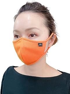 つけ心地0体験!『THE AIR 2』スポーツマスク[1枚] 世界中のマスク嫌いへ・・・ (ORANGE, FREE)