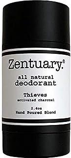 Sponsored Ad - Zentuary Aluminum Free Natural Deodorant. Eliminates Nervous Stress Sweat Odor (Thieves w/Activated Charcoa...