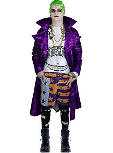 Funidelia | Disfraz de Joker - Suicide Squad Oficial para Hombre Talla XL ▶...