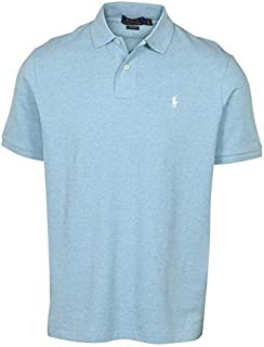 Ralph Lauren Mens Custom-Fit Mesh Polo Shirt Pony Logo