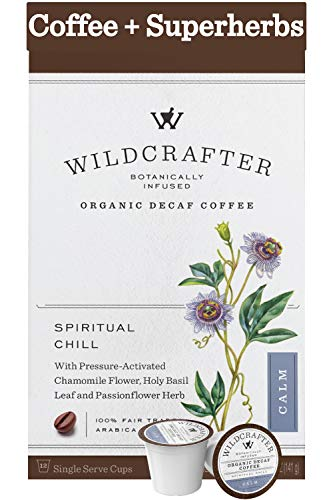 Wildcrafter Botanicals Organic Decaf Coffee Pods