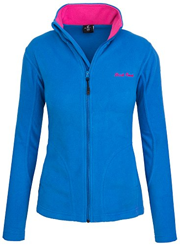 Rock Creek Damen Fleecejacke Fleece Jacke Übergangs Jacke Sweatjacke D-389 [Blue XS]
