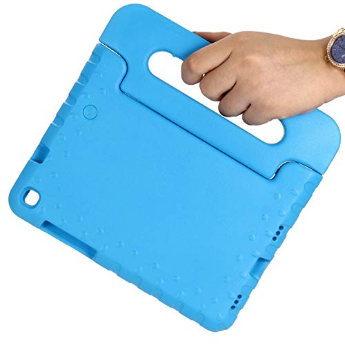 RZL PAD & TAB cases For Samsung Galaxy Tab A 8.0 SM-T290 T295 T297 2019, hand-held Shock Proof EVA full body cover Handle stand case for Samsung Galaxy Tab A 8.0 (Color : Blue)