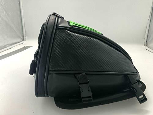 wenxin Motorcycle Leather Bag Back Seat Bag Oxford Top Case Multifunction Shoulder Backpack Waterproof Stocked Mochilas,Motorcycle Seat Bag (Color Name : Orange)