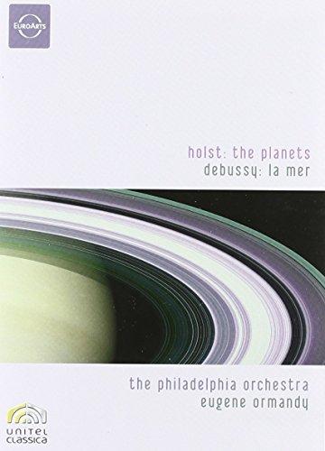 Holst:the Planets / Debussy:La Mer [DVD]