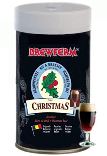 Brewferm Malto amaricato Christmas Beer kg. 1,5-Enologia Malti, Multicolore, Unica
