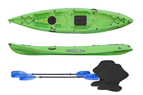Kayaks Pro 2 Tandem Recreation Package Sit on Top by Malibu