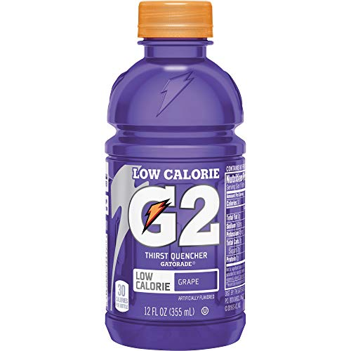 Gatorade G2 Sports Drink Low Calorie, Grape, 24 Count