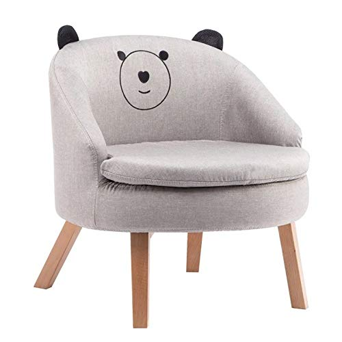 Ready Steady Bed Childrens Toddlers Armchair Girl Boy Schlafzimmer Playroom Seating Sofa Chair,Graybear