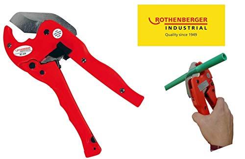 Rothenberger Industrial 36012 Kunststoffrohrschere Premium Kunststoffrohr-Schere - Ø 42 mm