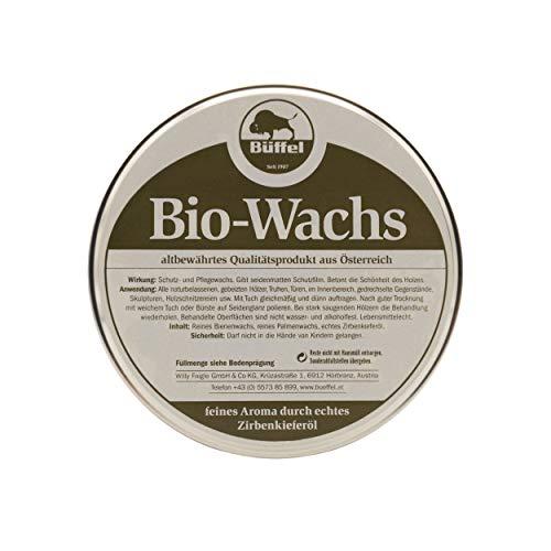 Büffel Bio-Wachs 250ml   mit Zirbenöl   mit Zirberlkieferöl und Bienenwachs   für Hölzer im Innenbereich