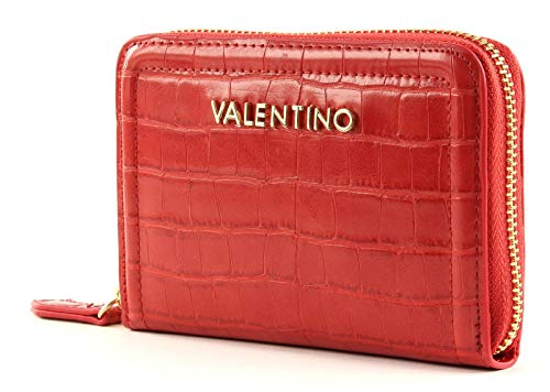 Mario Valentino VALENTINO by Bicorno Zip Around Wallet Rosso