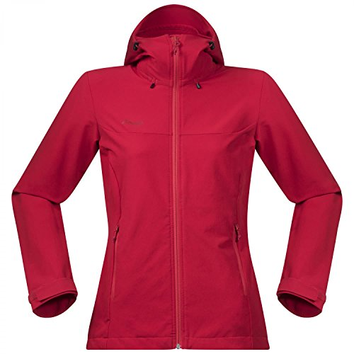 Bergans Ramberg Softshell Jacket Women Größe M Strawberry red