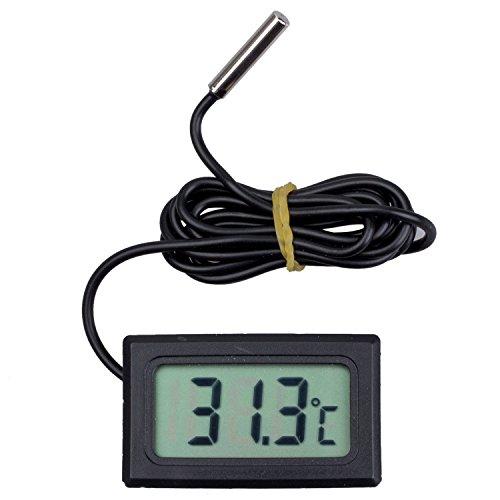 TOOGOO Termometro digitale con schermo LCD per Frigoriferi