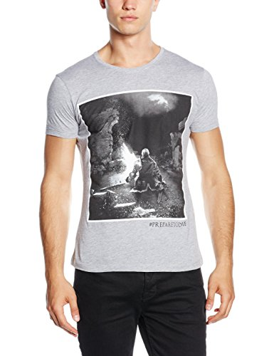 Preisvergleich Produktbild Dark Souls T-Shirt -XL- The Bonfire,  grau