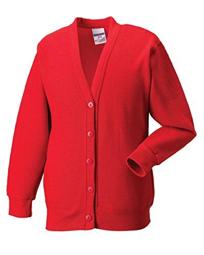 Russell Collection Herren Sweatshirt grau Light Oxford S