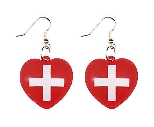 Boland 44805 Ohrringe Krankenschwester, One Size
