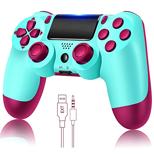 YU33 Wireless Remote Controller Compatible with Playstation 4 System, for...