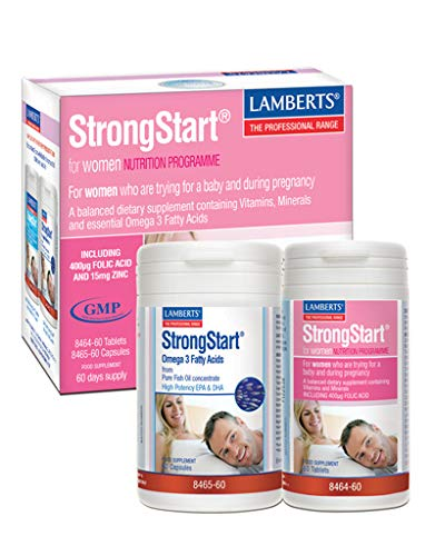 Lamberts StrongStart for Women Omega3 Pack - 60 tabletas
