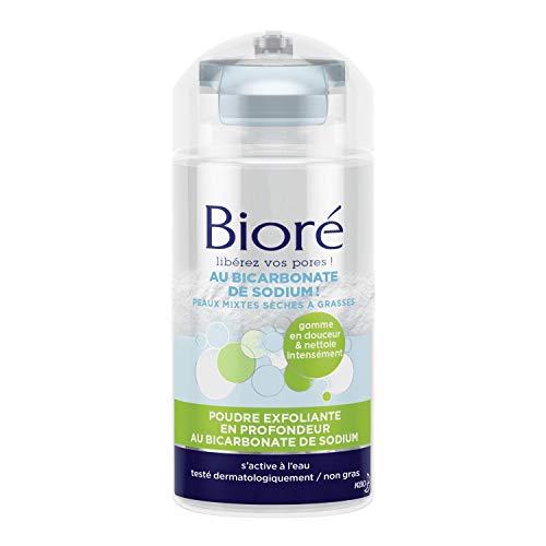 bioré polvo exfoliante (profundidad AU bicarbonato de sodio 125g–Lote de 2