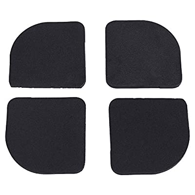 Garosa 4Pcs Anti Vibration Pads for Washing Machine Feet - Universal Anti-vibration Pads for Washing Machine Refrigerator Home Appliance