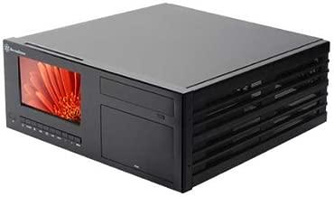 Silverstone Aluminum ATX Media Center/HTPC Case CW03B-MT - Retail (Black)