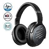 Mpow H16 Noise Cancelling Kopfhörer (ANC), Schnelles Laden/30 Stunden Spielzeit, Duale 40 mm HD...