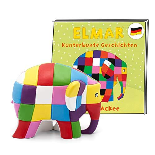 tonies Hörfigur für Toniebox, Elmar – Kunterbunte Geschichten, Hörspiel für Kinder ab 3 Jahren, Spielzeit ca. 51 Minuten