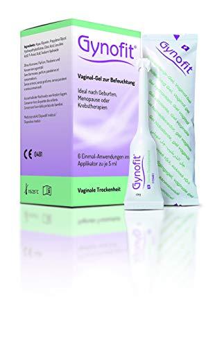 Gynofit Vaginal-Gel zur Befeuchtung | bei Scheidentrockenheit und Trockenheitssymptomen 6 x 5ml