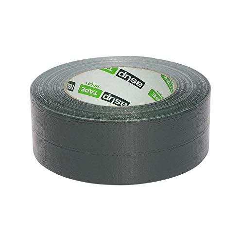 asup TAPE PROFI Gewebeklebeband 48 mm x 50 m dunkelgrün - Superstarkes Klebeband für den Profi, das auch bei Kälte haftet