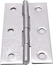 HONJIE 2-1/2 بوصة مفصل بعقب قابل للطي من الفولاذ المقاوم للصدأ لباب خزانة خزانة الأثاث - 15 قطعة
